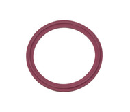 "2.5"" Purple Buna Metal Detectable Sanitary Gasket"
