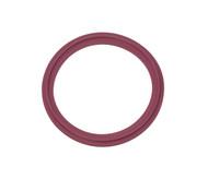 """2.5"""" Purple Buna Metal Detectable Sanitary Gasket"""