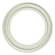 "4.0"" White Flanged EPDM Sanitary Gasket"