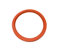 "20 3/4"" ID Red Silicone Manway Gasket"