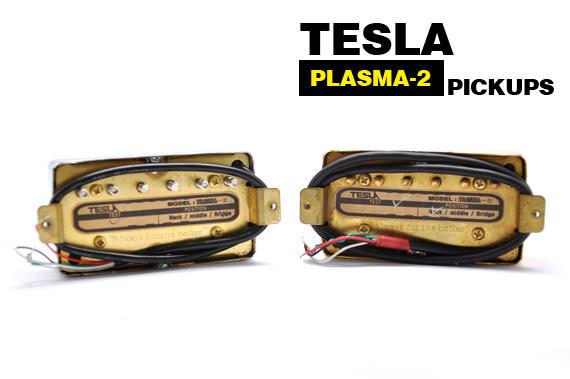 Tesla Plasma2 Pickups SV Guitars