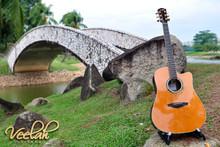 Veelah V57-DCE Dreadnaught Cutaway Acoustic Guitar w LR Baggs EAS VTC