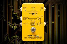 Artec True Bypass Loop Switch Pedal LS1