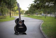 M.Tyler Guitars STA OM-30C BK Acoustic Guitar