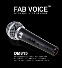 Muztek DM815 Dynamic Microphone with 5m cable