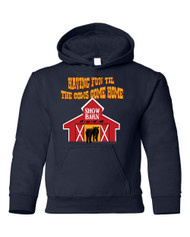 Til the Cows Come Home Youth Hoodie