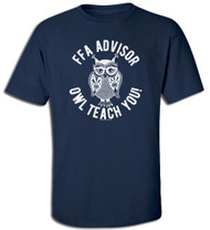 FFA Owl Teach You Advisor Tee