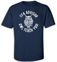 FFA Owl Teach You Advisor Tee