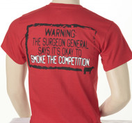 Stickman Surgeon General Warning Tee