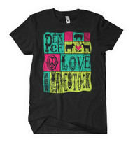 Little Showgirls Peace, Love Tee (All Species)