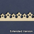 Victorian Dollhouse Trim L - Extended