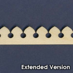 Victorian Dollhouse Trim N - Extended