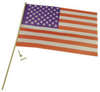 American Flag/Pole/Hdw 1set/pk