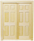 Dbl-Entry 6-Panel Inter Door