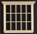 15-Light Dollhouse Window