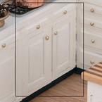 """Dollhouse Kitchen Furniture 3.0"""" Base Kit Unfinished"""
