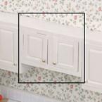 """Dollhouse Kitchen Furniture 3.0"""" UpCab Kit Unfinished"""