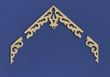 Victorian Dollhouse Apex Gable Trim