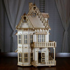 Gothic Victorian Dollhouse Kit