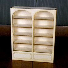 Dollhouse Bookcase Kit