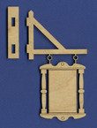 Dollhouse Hanging Sign