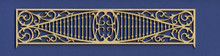 Victorian Dollhouse Fretwork Spandrel