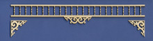 Adjustable Fretwork Spandrel for Victorian Dollhouse