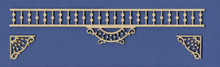 Adjustable Victorian Dollhouse Spandrel