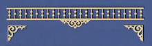 Adjustable Victorian Dollhouse Fretwork Spandrel