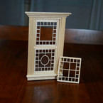 Victorian Dollhouse Dual Grid Design - Window Mullion