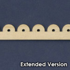 Victorian Dollhouse Trim B - Extended