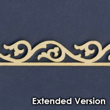 Victorian Dollhouse Trim C - Extended