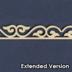 Victorian Dollhouse Trim D - Extended