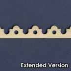 Victorian Dollhouse Trim G - Extended