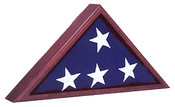 Veterans Flag Depot - USA Flags and Flagpoles - MADE IN THE USA - Cherry Flag Display Case