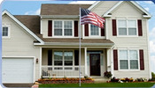 Veterans Flag Depot - USA Flags and Flagpoles - MADE IN THE USA - 25 Foot External Halyard Commercial Grade Sectional Aluminum Flagpole