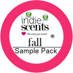 IndieScents 2017 Fall Sample Pack-11 Pc