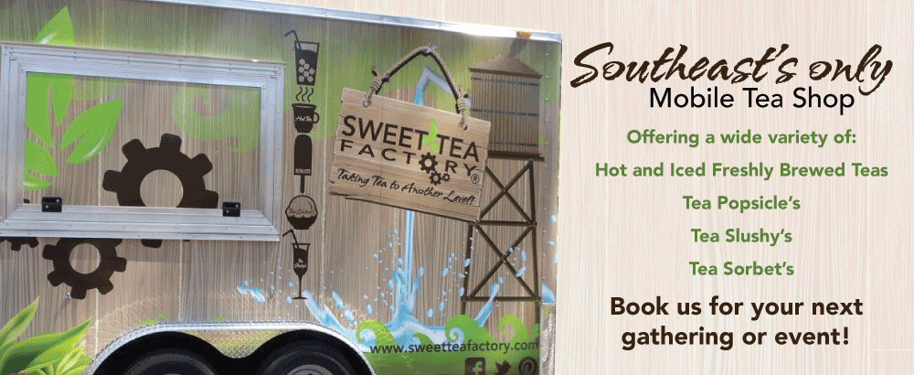 Mobile Tea Concessions Trailer