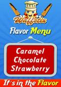 Waffstix PVC Flavor Menu Banner