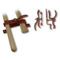 KMW Logger Shovel and Axe Mounting Bracket set (Shorter)