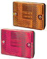 Stud mounted Amber clearance light. 12 Volt