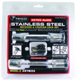 "TRIMAX STAINLESS STEEL T3 - 5/5"" Receiver & TC3 - 3-1/2"" Span Coupler Lock"