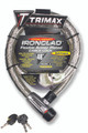 """IRONCLAD HIGH SECURITY ARMOR PLATED STAINLESS STEEL LOCKING CABLE 48"""" X 26MM"""""""