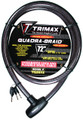 """TRIMAFLEX INTEGRATED KEYED CABLE LOCK 72"""" (L) X 20MM"""
