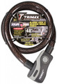 "TRIMAX-ALARM LOCK & QUADRA-BRAID CABLE 25MM CABLE X 48"" LENGTH"