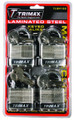 4-PACK OF KEYED ALIKE TLM100Padlocks