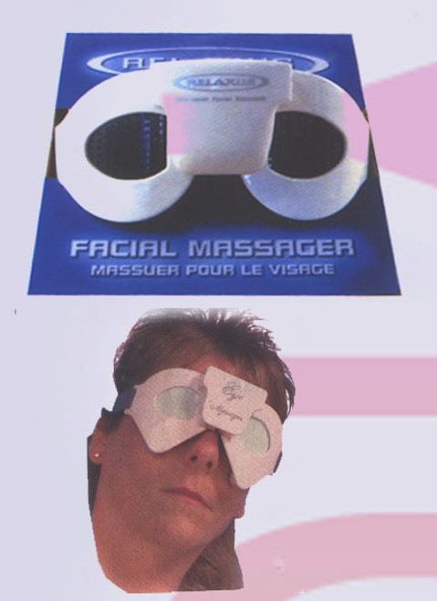 Eye Massager Battery for headaches