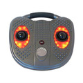 Thermal heat electric vibrating foot massage