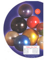 "Fitball 22 cm purple, 26 blue, and 30"" yellow burst resistant ledra plastic"