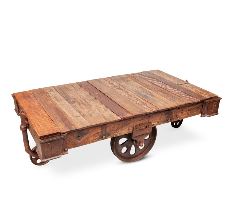 Railway Cart Coffee Table